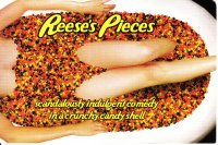Reese's Pieces front card